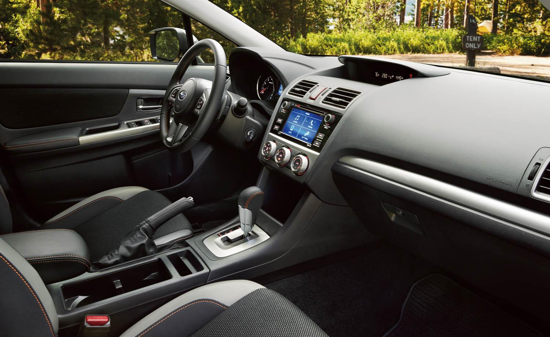 2017 for 2018 crosstrek interior colors